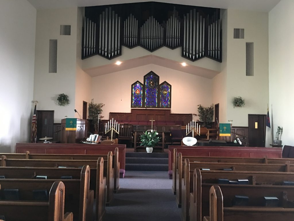 Inside Parks Chapel AME Church