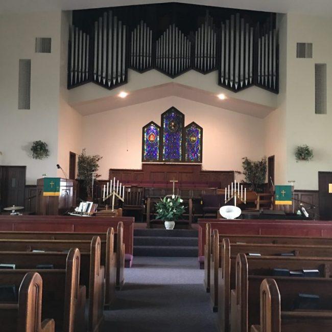 Inside Parks Chapel AME Church