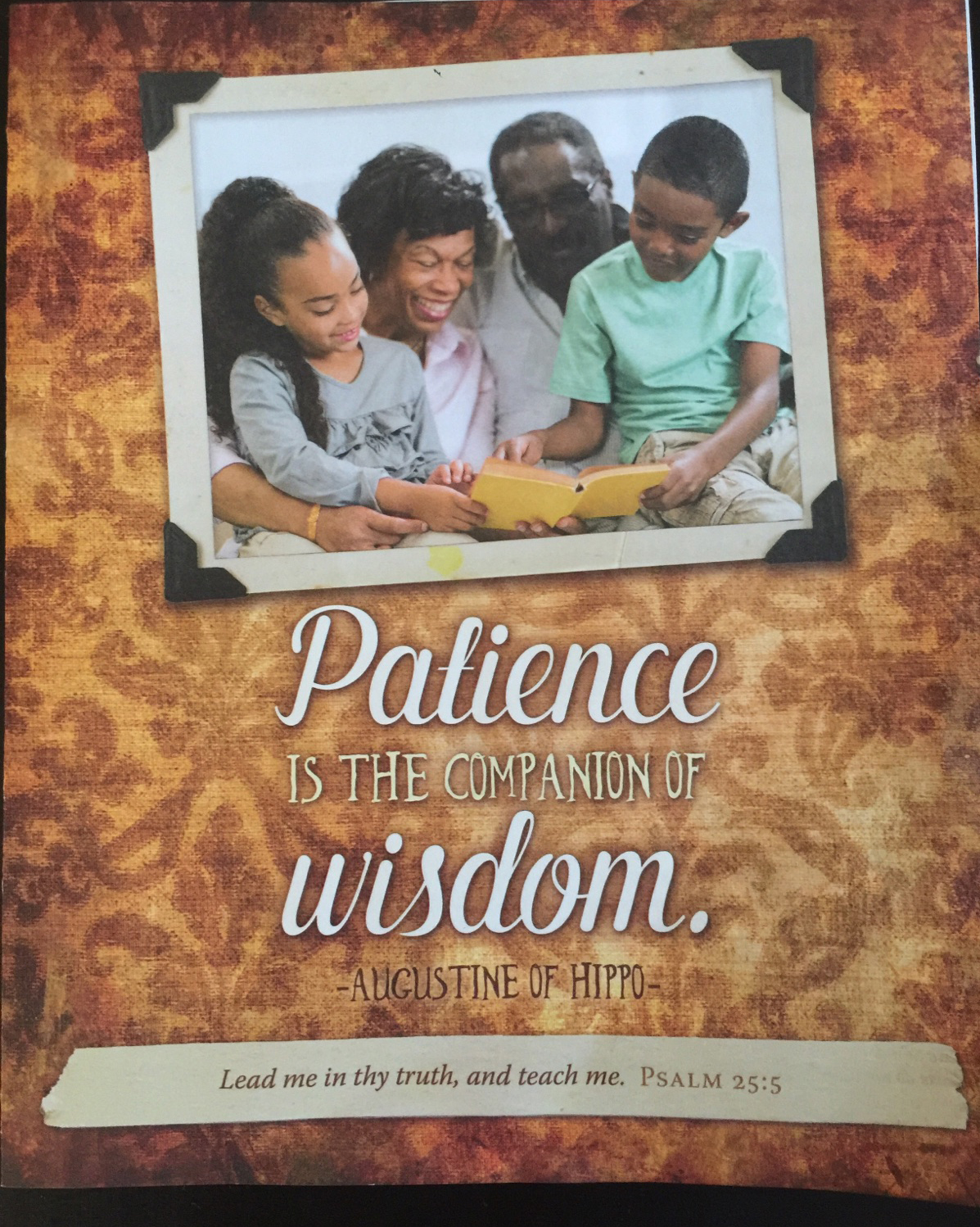 Patience and Wisdom