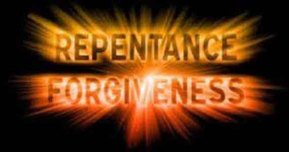 Repentance Forgiveness