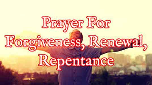 Prayer For Repentance