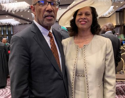 Reverend Reuben W. Ford and First Lady Joyce Ford.