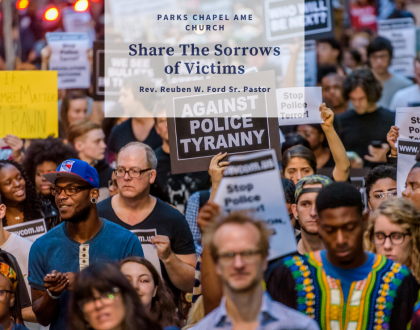 Share The Sorrows of Victims