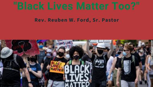 BLACK LIVES MATTER TOO