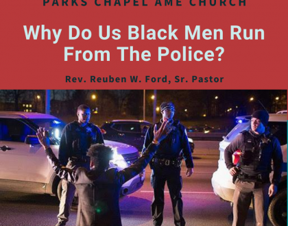 Why Do Us Black Men Run From The Police?