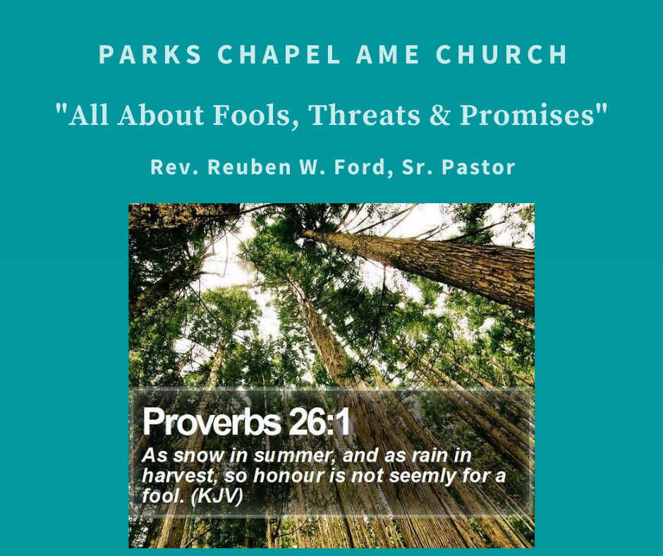 Fools, Threats and Promises