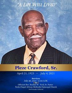 Pleze Crawford Sr.