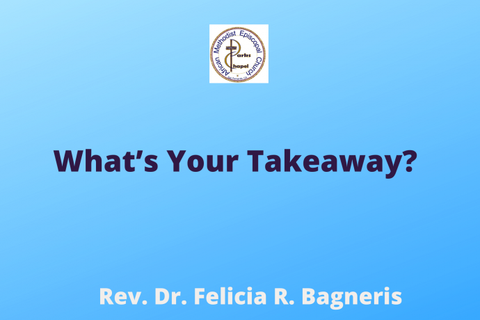 What's Your Takeaway?